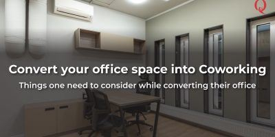 Convert your Office in Co-working Space - Qdesq