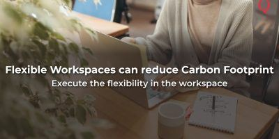 How Flexible Workspaces can reduce Carbon Footprint by lowering traffic - Qdesq
