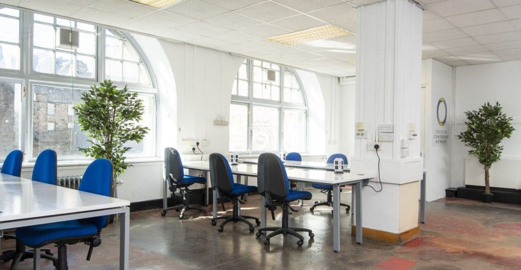 The Scottish Coworking Network by the Scottish Library and Information Council, Scotland - coworking library - qdesq