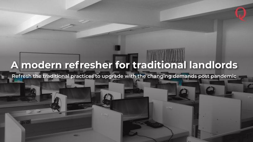 A modern refresher for traditional landlords - Qdesq